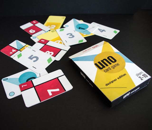 Uno Designer Edition Student Project Game Card Design Cards