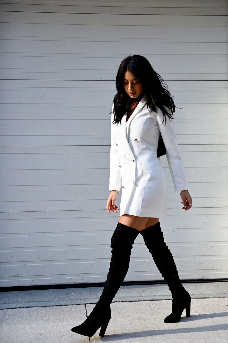 The Thigh High Boots Outfit 35 Ways To Wear Thigh High Boots Just The Design Thigh High Boots Outfit Fashion High Boots Outfit [ 1350 x 900 Pixel ]