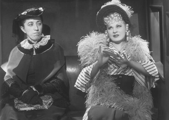 Image result for margaret hamilton and mae west my little chickadee