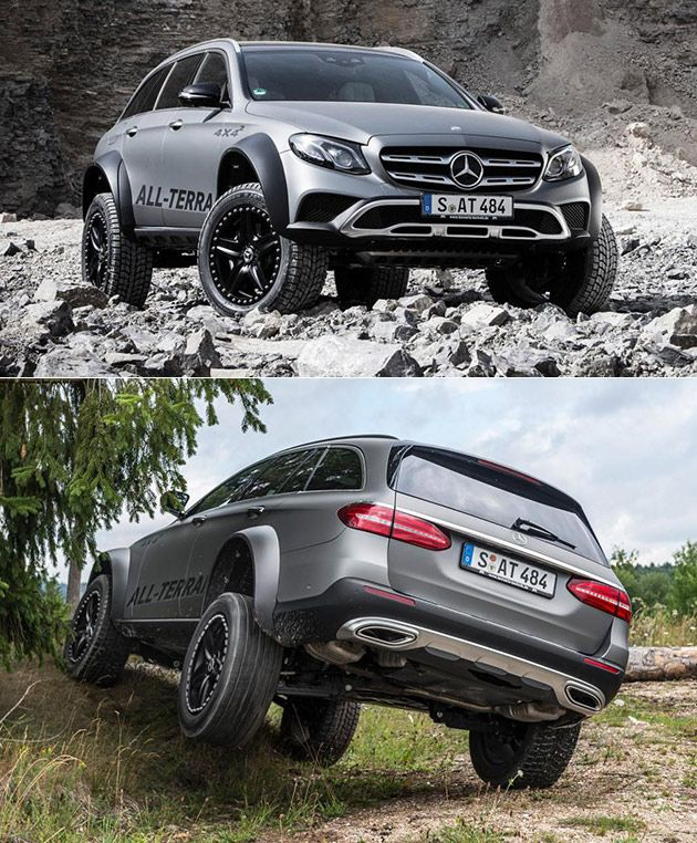 E400 All-Terrain 4x4 Squared (With Images)