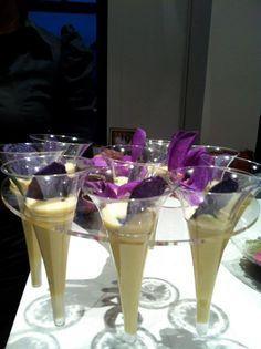 Vichissoise - Cold leek and #potato #veloute  http://www.quintessencia.com/
