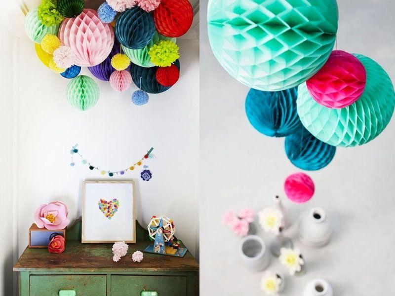 boule alv ol e en papier de soie 25 cm id es bapt mes pinterest papier de soie boule et soie. Black Bedroom Furniture Sets. Home Design Ideas