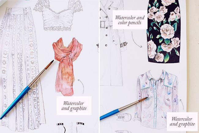 how to choose the right type of watercolor paper mixed