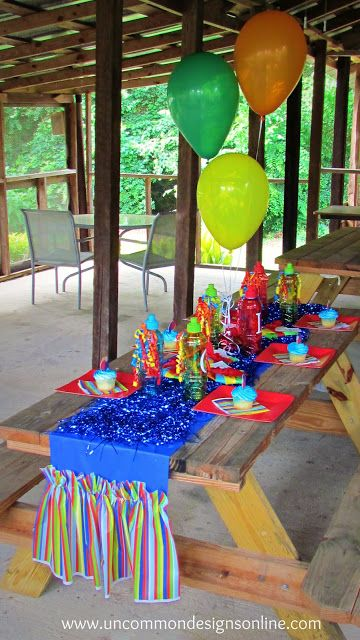 Throw A Beach Ball Summer Party For Kids Kids Party Decorations