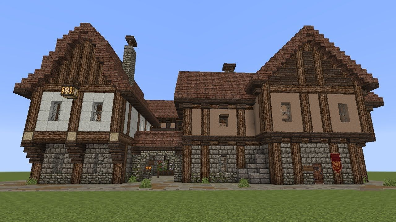Minecraft Fachwerkhäuser