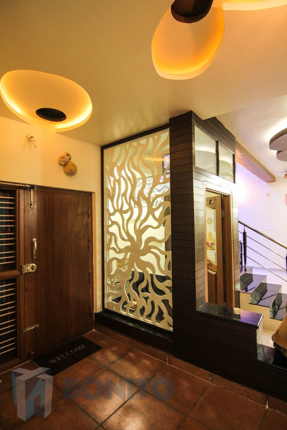 Pooja Room Designs In Living Room Pin By Jag On Entrance Pinterest Ceiling Design Entrance And