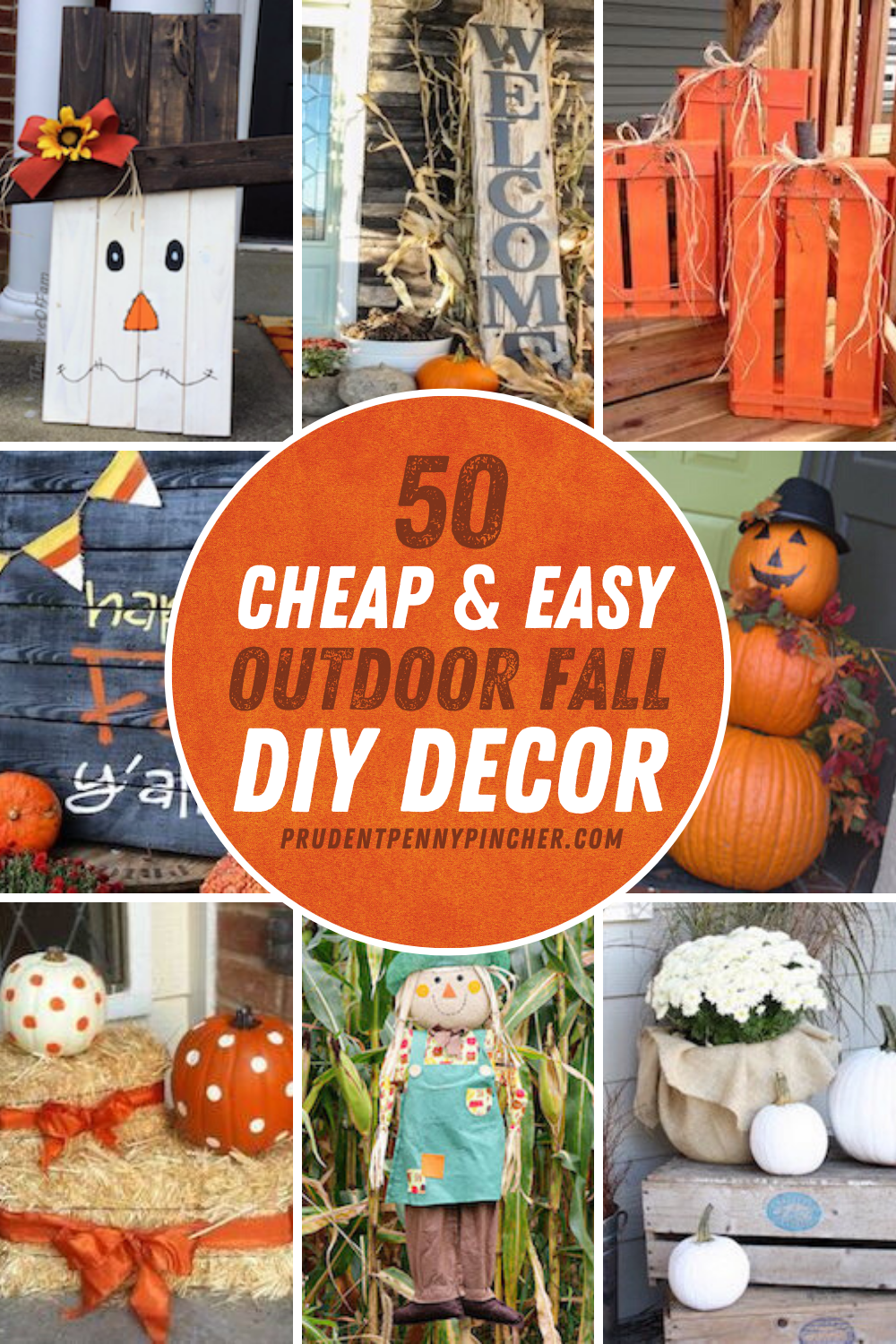 50 Cheap And Easy Diy Outdoor Fall Decorations Diy Holiday Decor Fall Decor Diy Fall Outdoor Decor