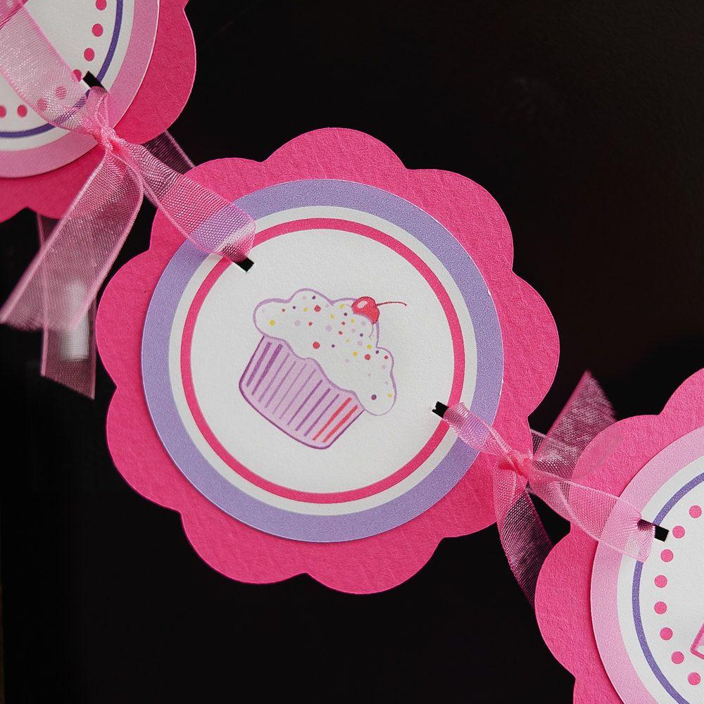 cupcake birthday party decorations i am 1 mini banner cupcake