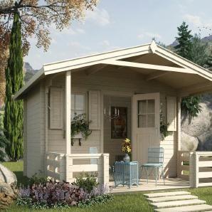WEKA Gartenhaus »138 B Gr.2«, Gesamtmaß BxT 450x590 cm