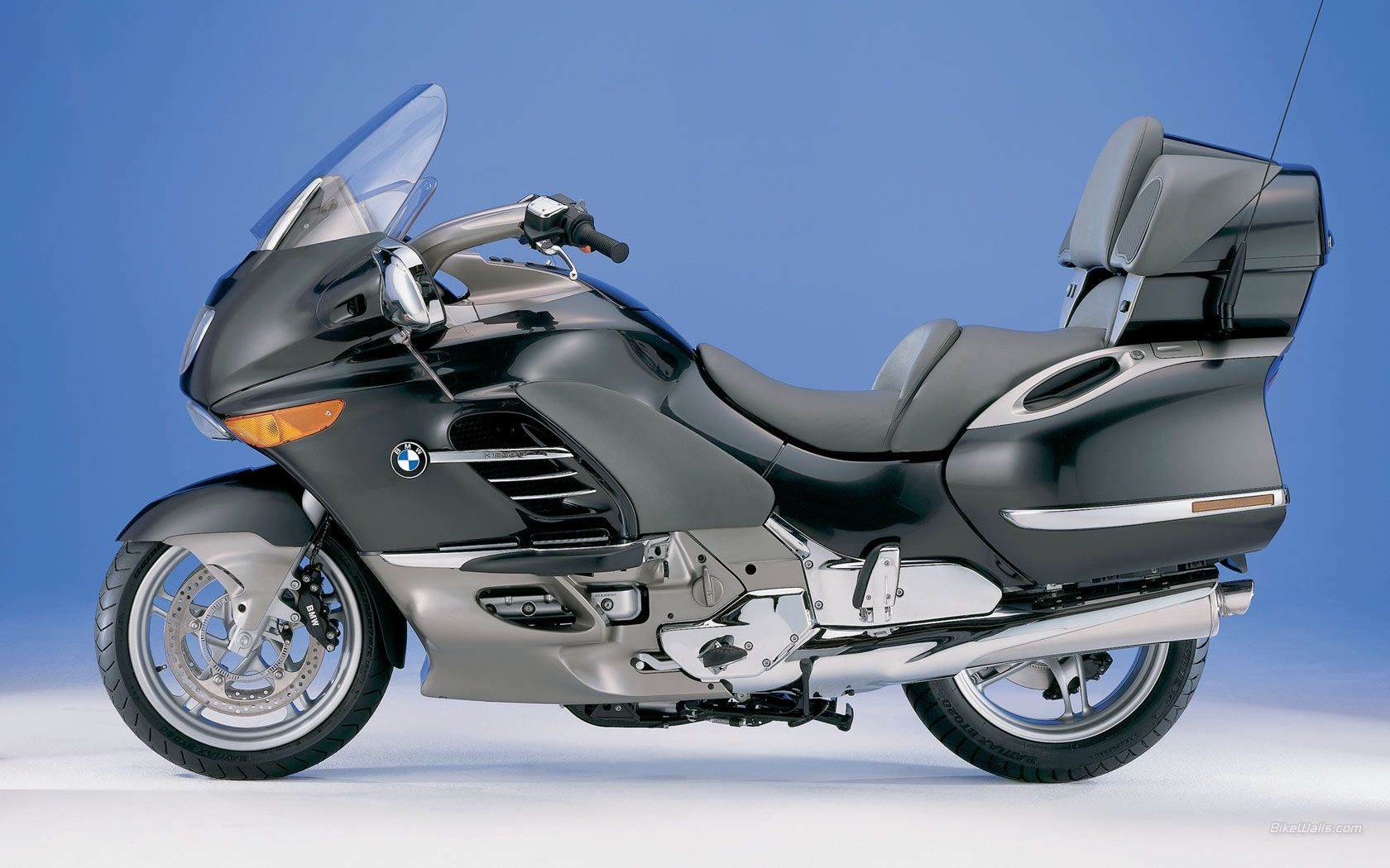 Free BMW K 1200 LT motorcycle wallpaper with 1680 x 1050 resolution