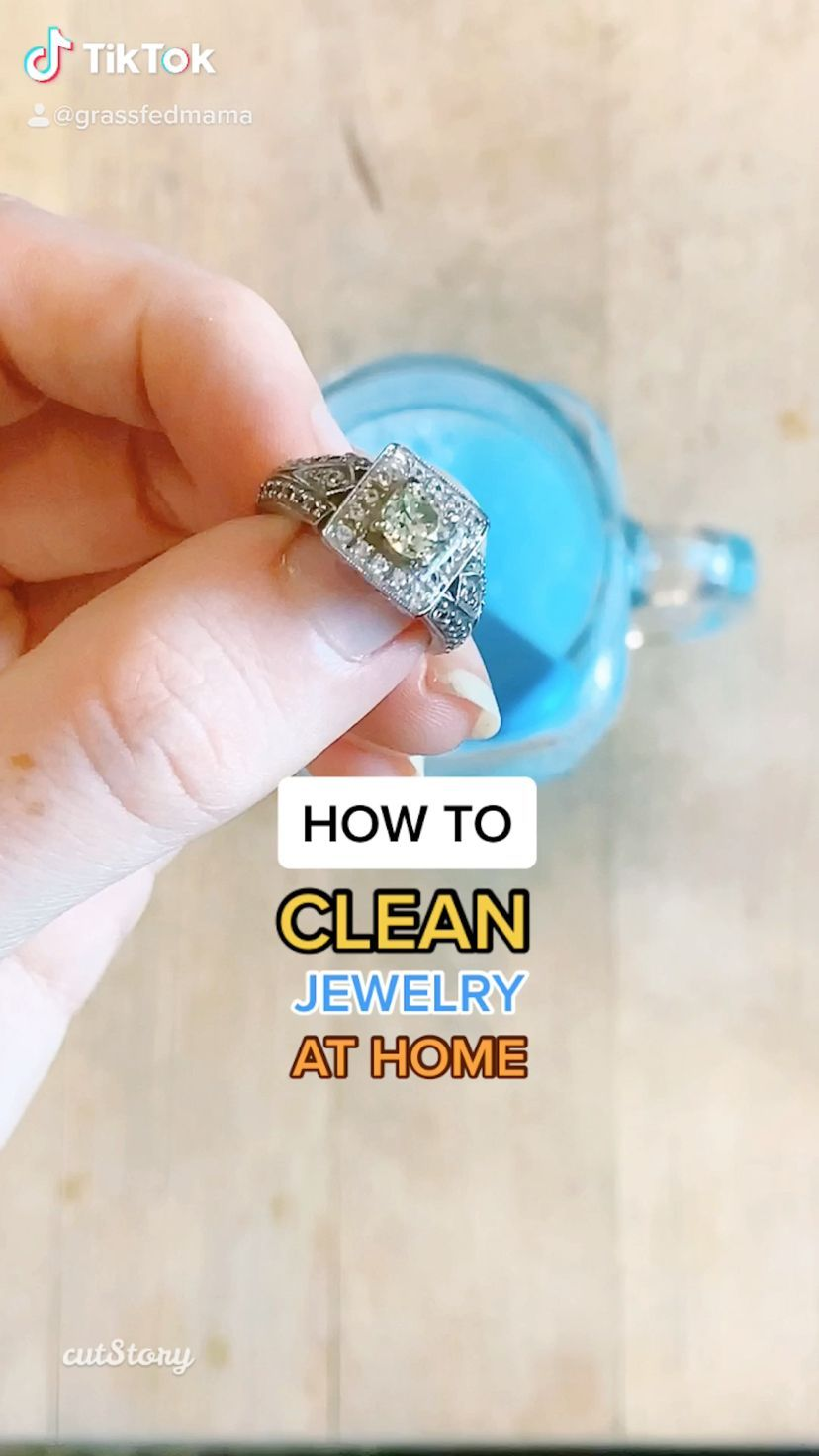 Suberb How to clean jewelry at home