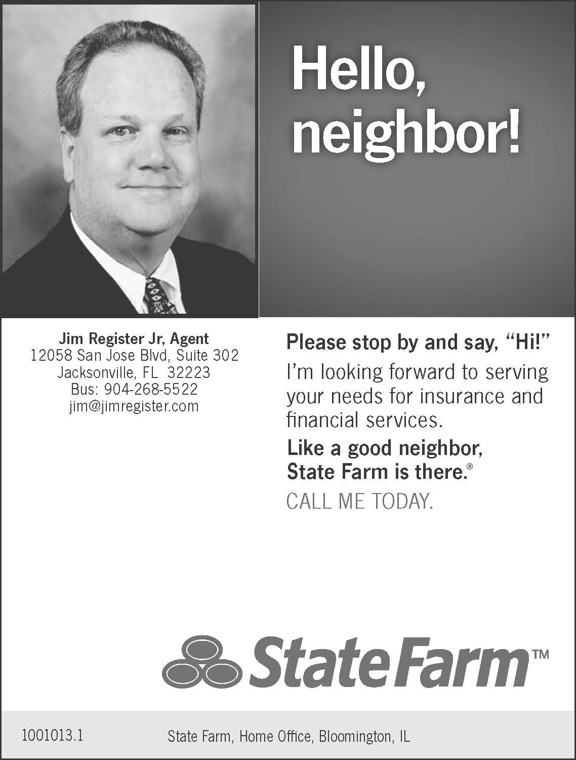 Jim Register At State Farm Financial Services State Farm How