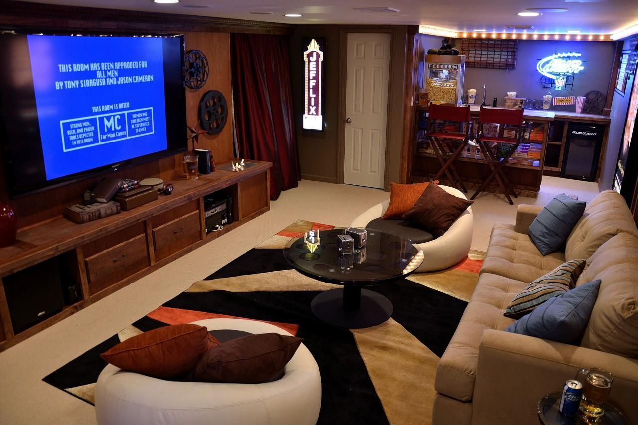 Man Cave Home Theater Man Cave Basement Man Cave Ideas Cheap Man Cave Furniture
