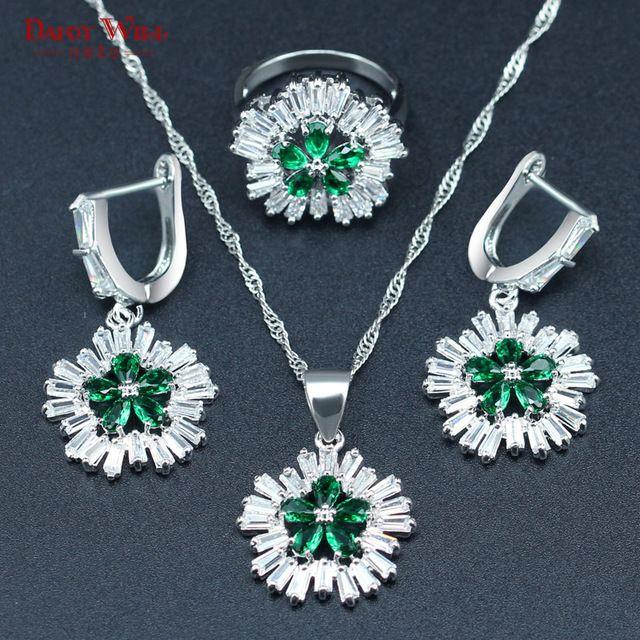 d2662c84472c Aliexpress.com  Comprar Dandy será la moda color plata joyería para las mujeres  cristal