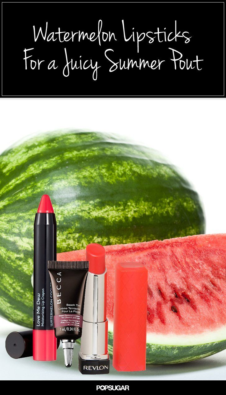 Pin for Later: 14 Juicy Lipsticks and Glosses You Should Wear on National Watermelon Day