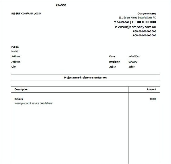 Excel Invoice Free Templatess Microsoft Excel Invoice Template