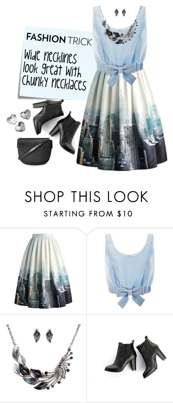 """""""Fashion Trick"""" by wear-your-heart ❤ liked on Polyvore featuring Post-It, Chicwish, Honor, SWEET MANGO, Topshop and LARA"""