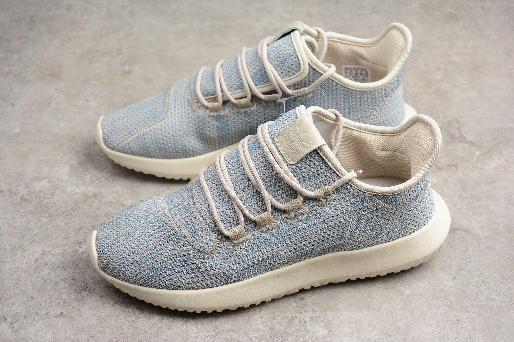 the latest 317fb bc0fe adidas Originals Tubular Shadow Knit Tactile Blue/Brown ...