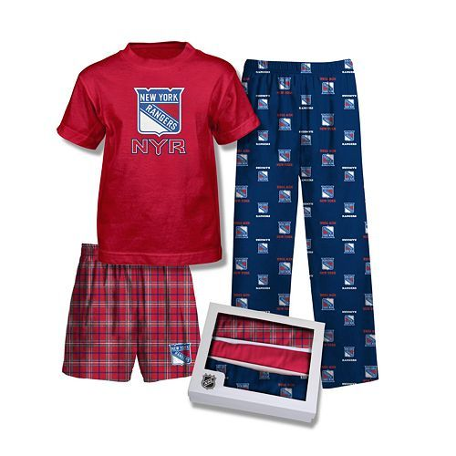 brand new 7906e 17587 Reebok New York Rangers 3-Pc. Pajama Set - Boys 8-20 $50.00 ...