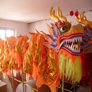 cbb87d8a9 Click to Buy << 10m 6 adult Length Size 3 Gold plated Chinese DRAGON DANCE  ORIGINAL Dragon Chinese Folk Festival Celebration Costume #Affiliate