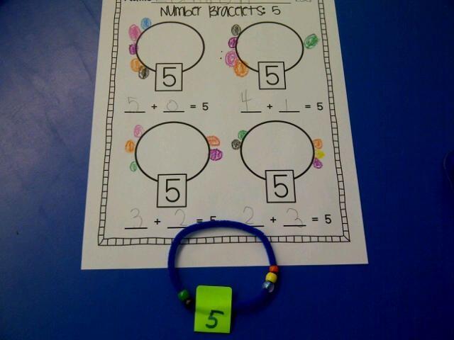 Joy Of Kindergarten Addition With Number Bracelets