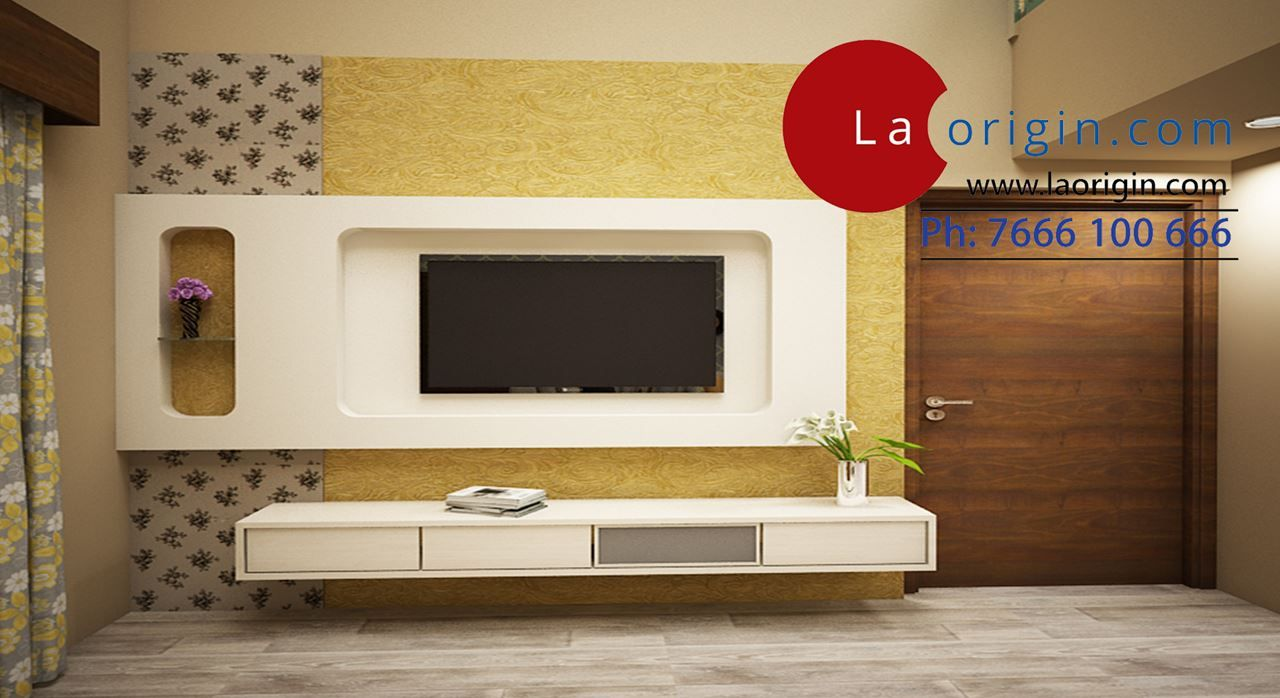Get Modern Complete Home Interior With 20 Years Durability..Martha TV Wall  Unit