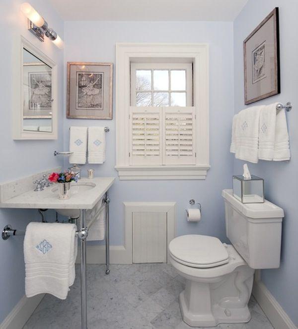 colorful ideas to visually enlarge your small bathroom on blue paint bathroom ideas exterior id=44420