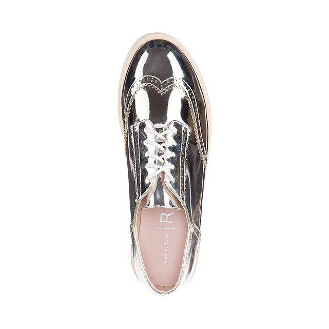 фото Ботинки-дерби с зеркальным эффектом MADEMOISELLE R