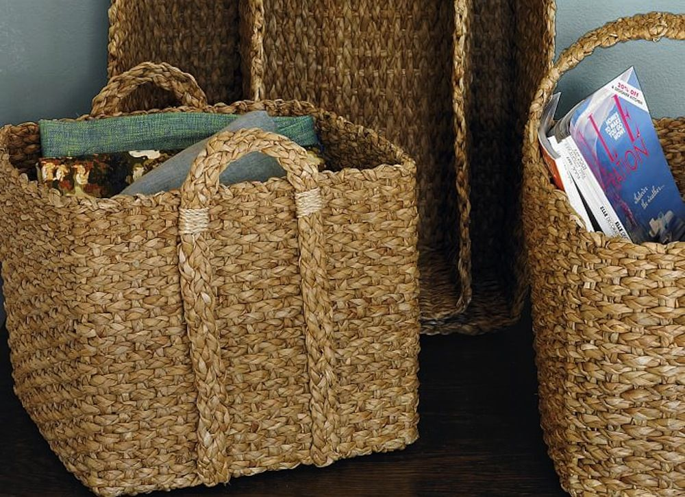 31 Ways To Fake A Clean House Storage Baskets Storage Bins