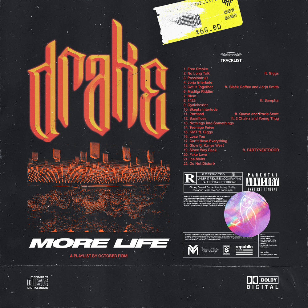 Drake More Life (Cover Concept) on Behance Life cover
