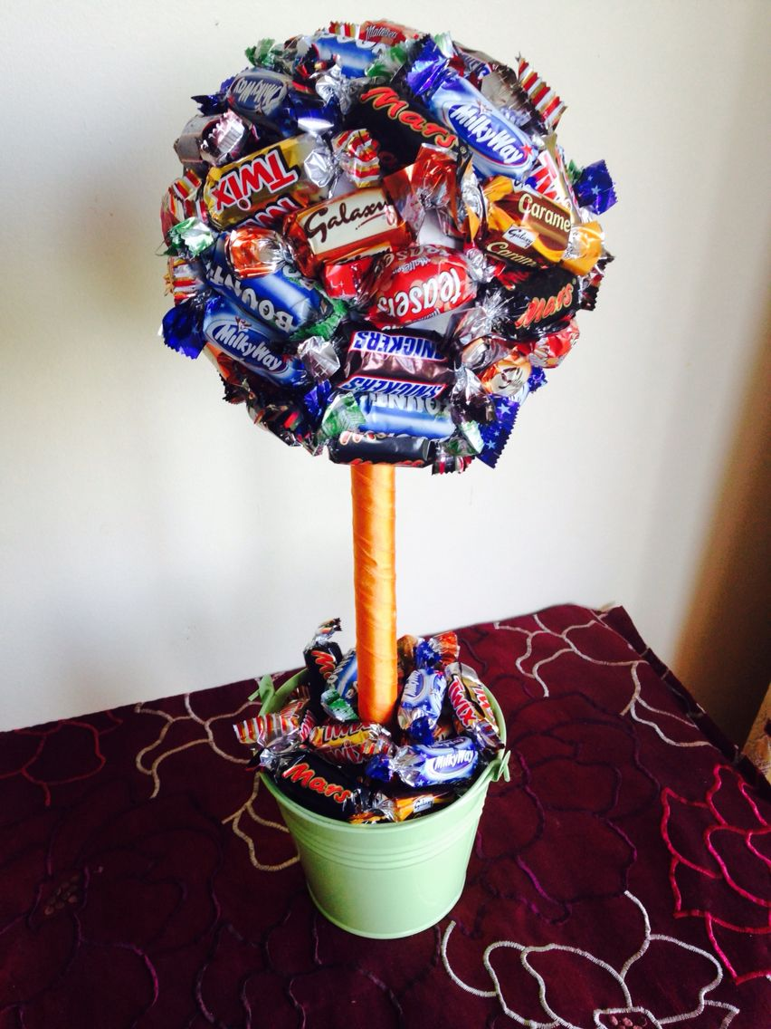 Celebration sweetie tree I made | Bäume | Pinterest | Abschied ...