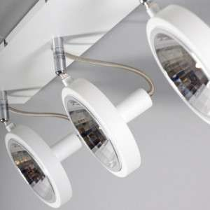 Spot Nox 3 wit - Slaapkamerverlichting - Verlichting per ruimte - Lampenlicht.be
