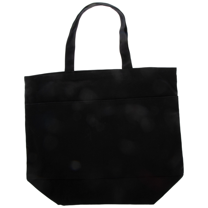 Black Canvas Tote Bag With Pockets Large Hobby Lobby 1765932 Tote Bag With Pockets Canvas Grocery Bag Canvas Tote