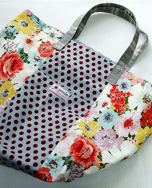 Jane Market Bag Sewing Pattern | Bag sewing patterns, Sewing ...