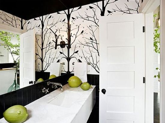 I wanna try doing those trees to my wall