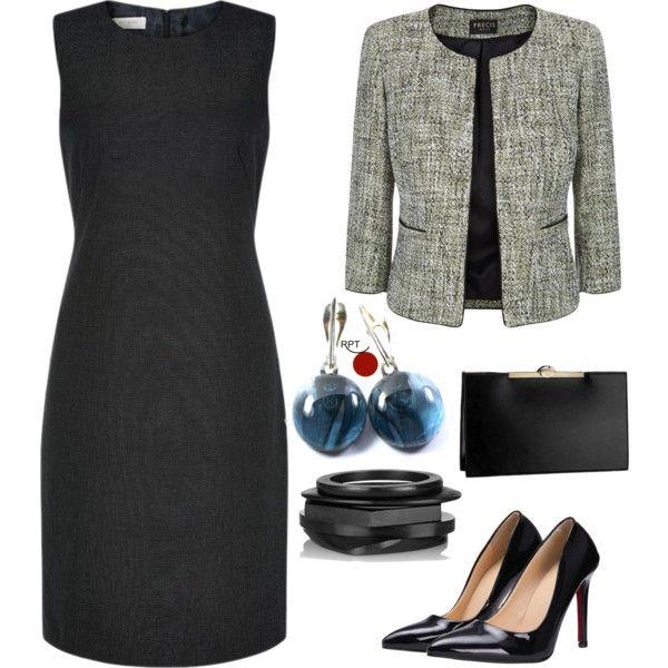 One Dress Many Looks - Tuesday Office Attire