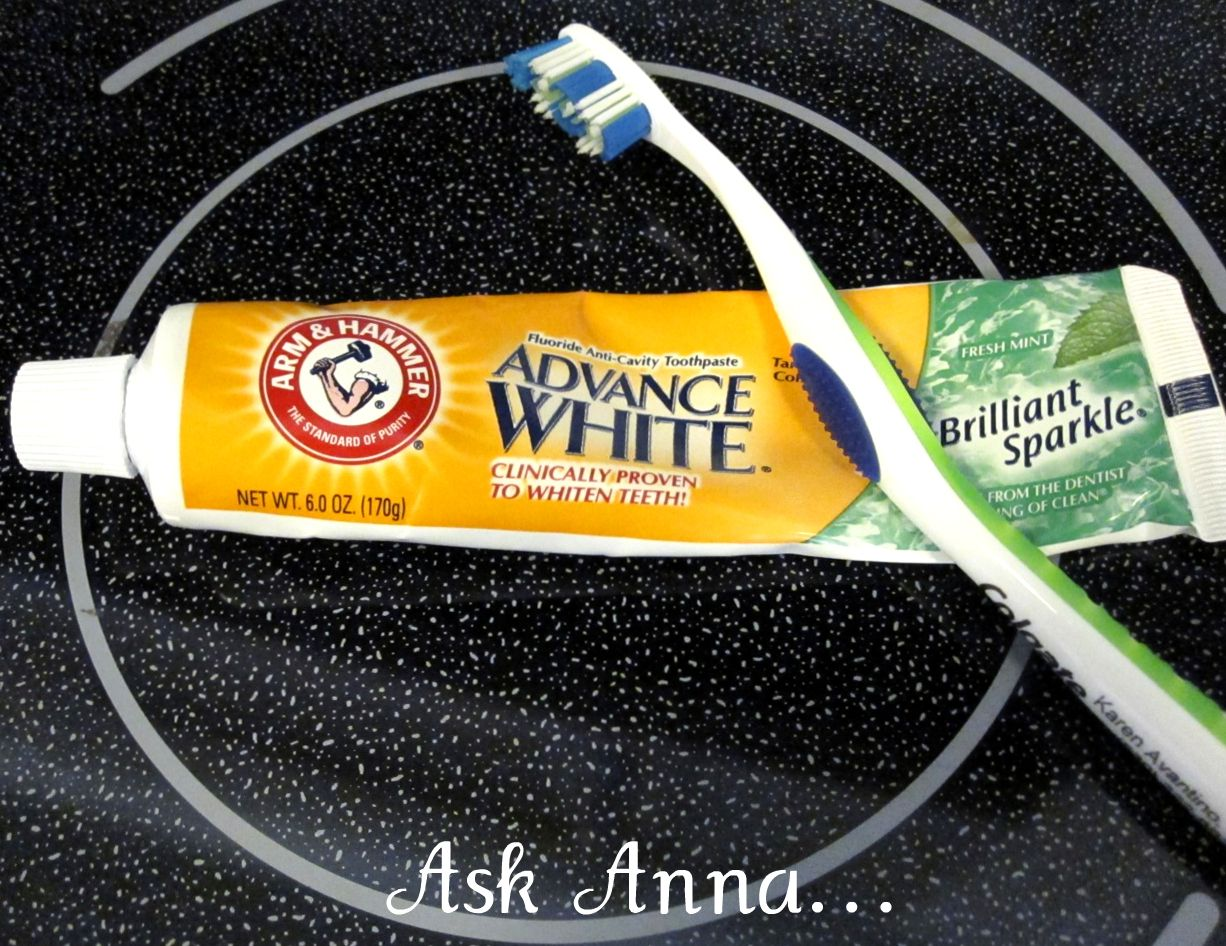 Arm And Hammer Toothpaste To Clean Glass Stove Top! Check Out Annau0027s  Website For Amazing