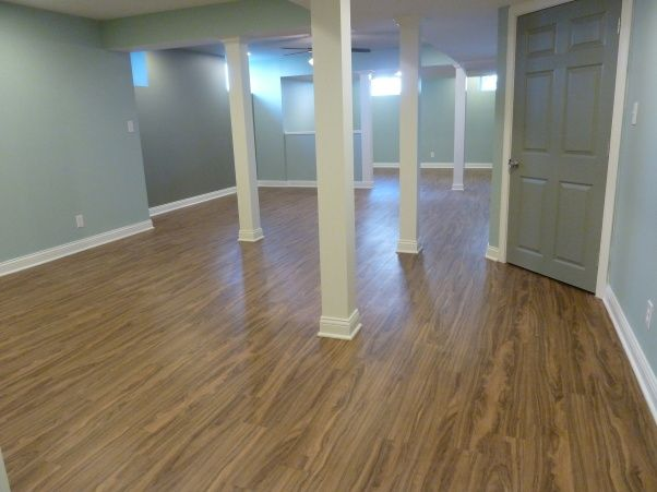 Floors Are Plank Vinyl Perfect For Basements If They Ever Get Wet