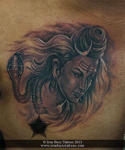 Tattoos By Ex Employees Iron Buzz Tattoos: Best Lord Shiva / Mahadev Tattoos Done At Iron Buzz