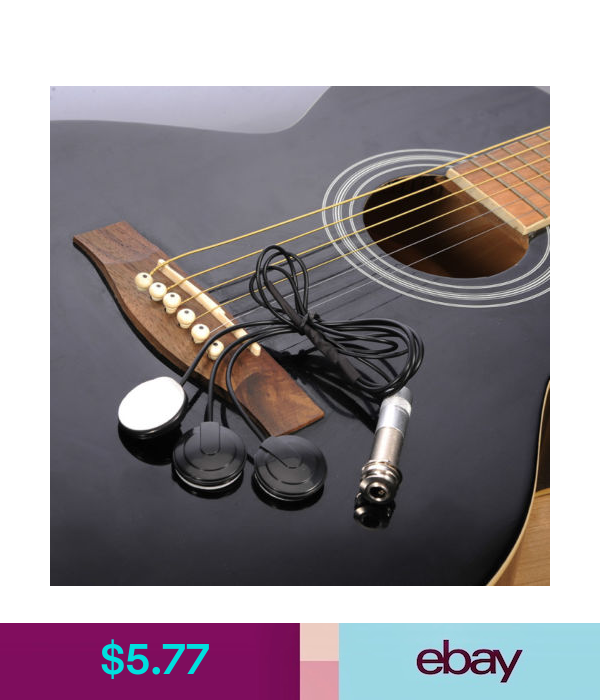 Parts Accessories Universal Acoustic Guitar Pickup Piezo Transducer Ukulele Mandolin Banjo Pickups Eb Acoustic Guitar Pickups Guitar Pickups Acoustic Guitar