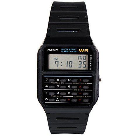 Casio Mens Ca53w Calculator Watch Style Casio Vintage Watch