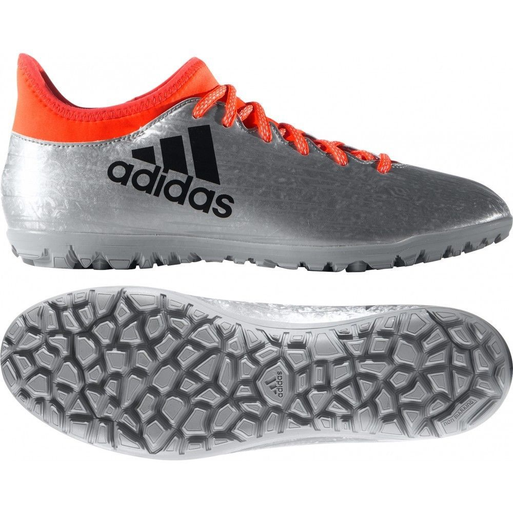 0b472aa3618 ... france adidas x 16.3 cage turf soccer shoes silver s red s79575 sz 10  23193 35b58