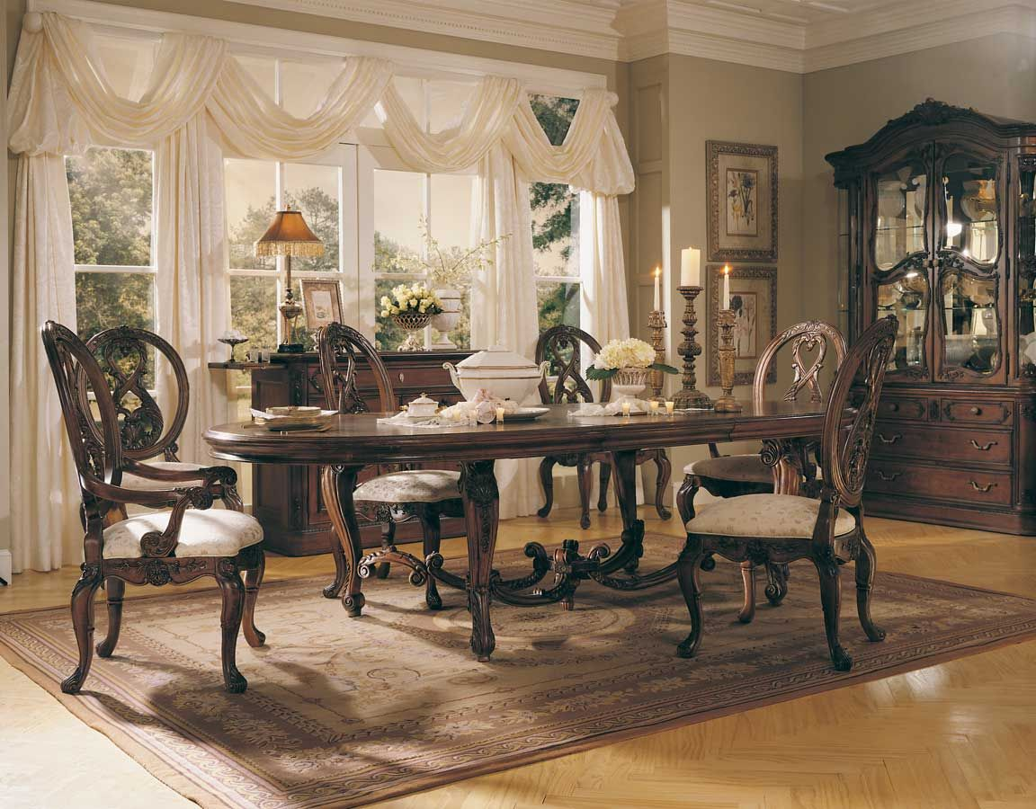 American Drew Jessica McClintock Home Romance Renaissance Dining Collection