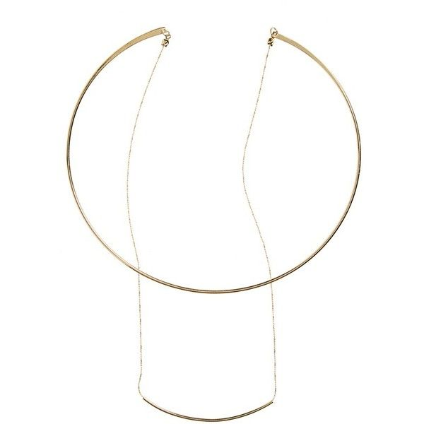Women's Bp. Double Row Collar & Bar Necklace ($19) ❤ liked on Polyvore featuring jewelry, necklaces, gold, bar pendant necklace, gold chain jewelry, yellow gold necklace, gold jewellery and gold bar pendant necklace