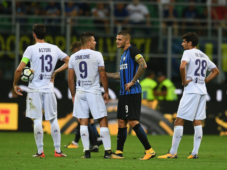 Icardi aprovechó la polémica del VAR para su primer grito