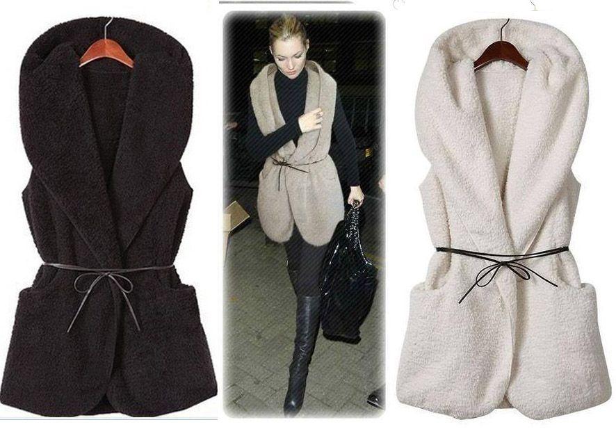 Kamizelka Futerko Bezrekawnik Kazmizelki 460 62 3591318584 Oficjalne Archiwum Allegro Fashion My Style Coat