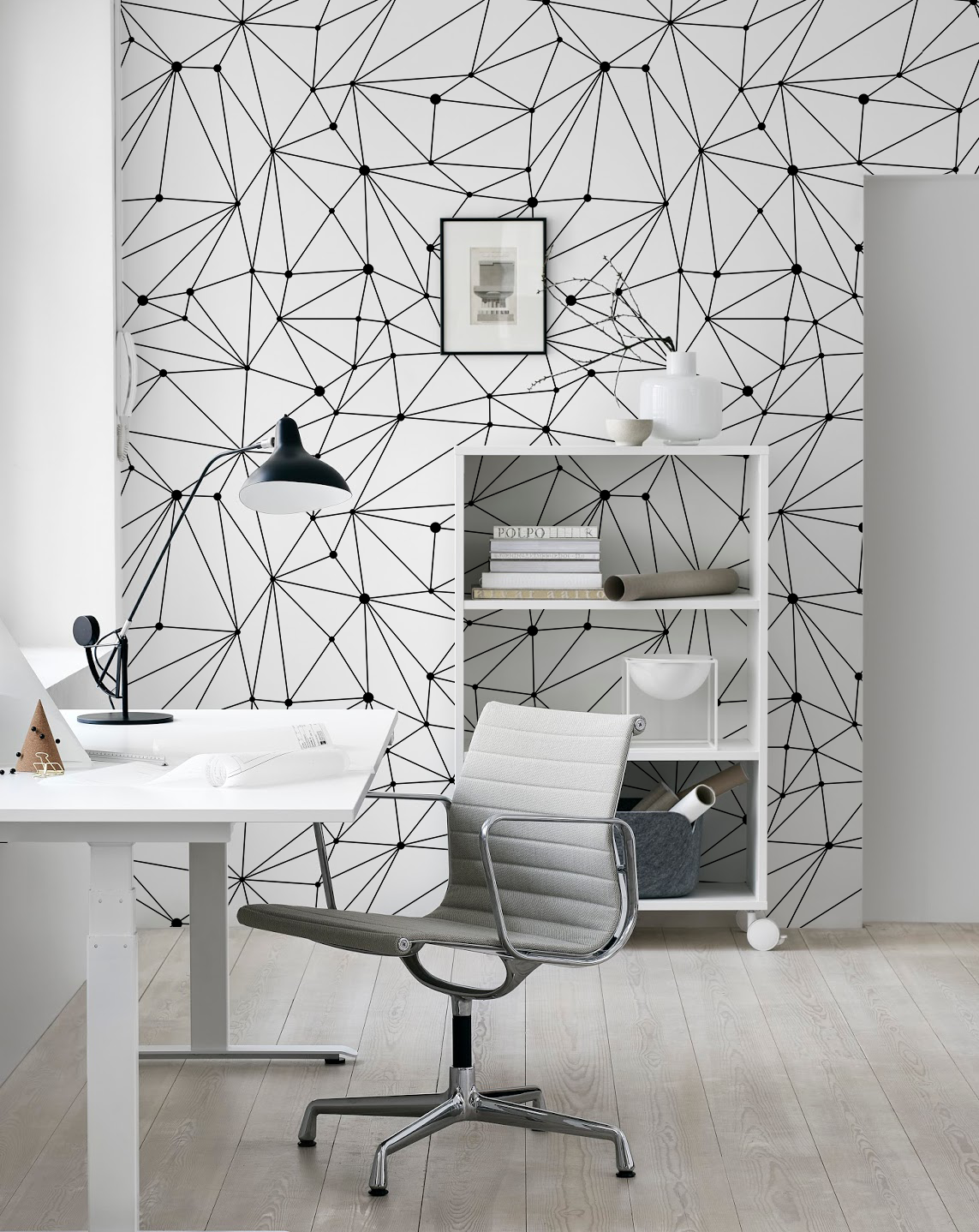 Connect the Dots Removable Wallpaper in 2019 | Home | 벽지, 벽화, 공예