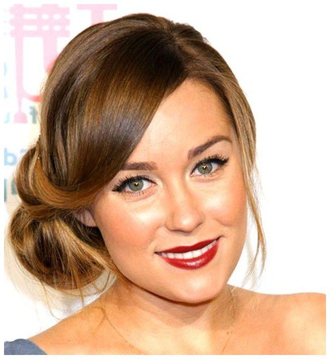 Side Bun Hairstyles lovely side bun with braid 22 Popular Side Part Hairstyles For Classic Elegant Look