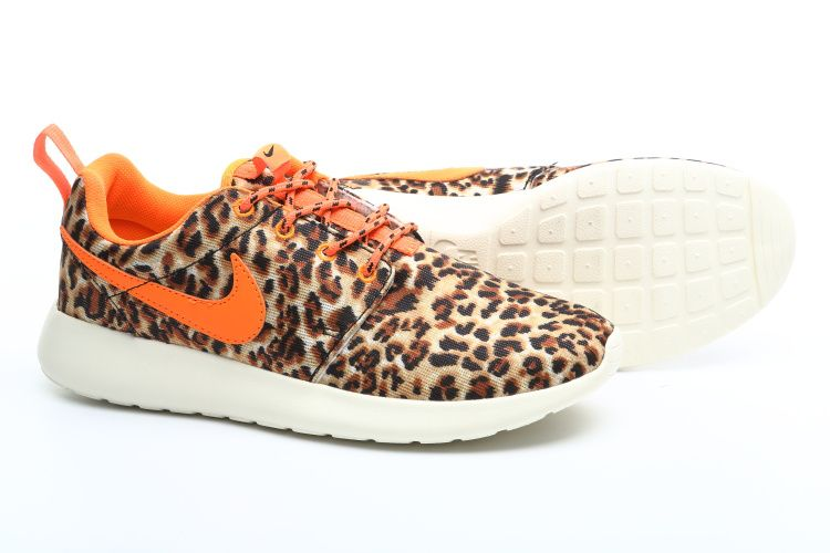 nike nike air max 90 - Nike Roshe Run London Leopard Womens Tour Orange 511882 511 free ...