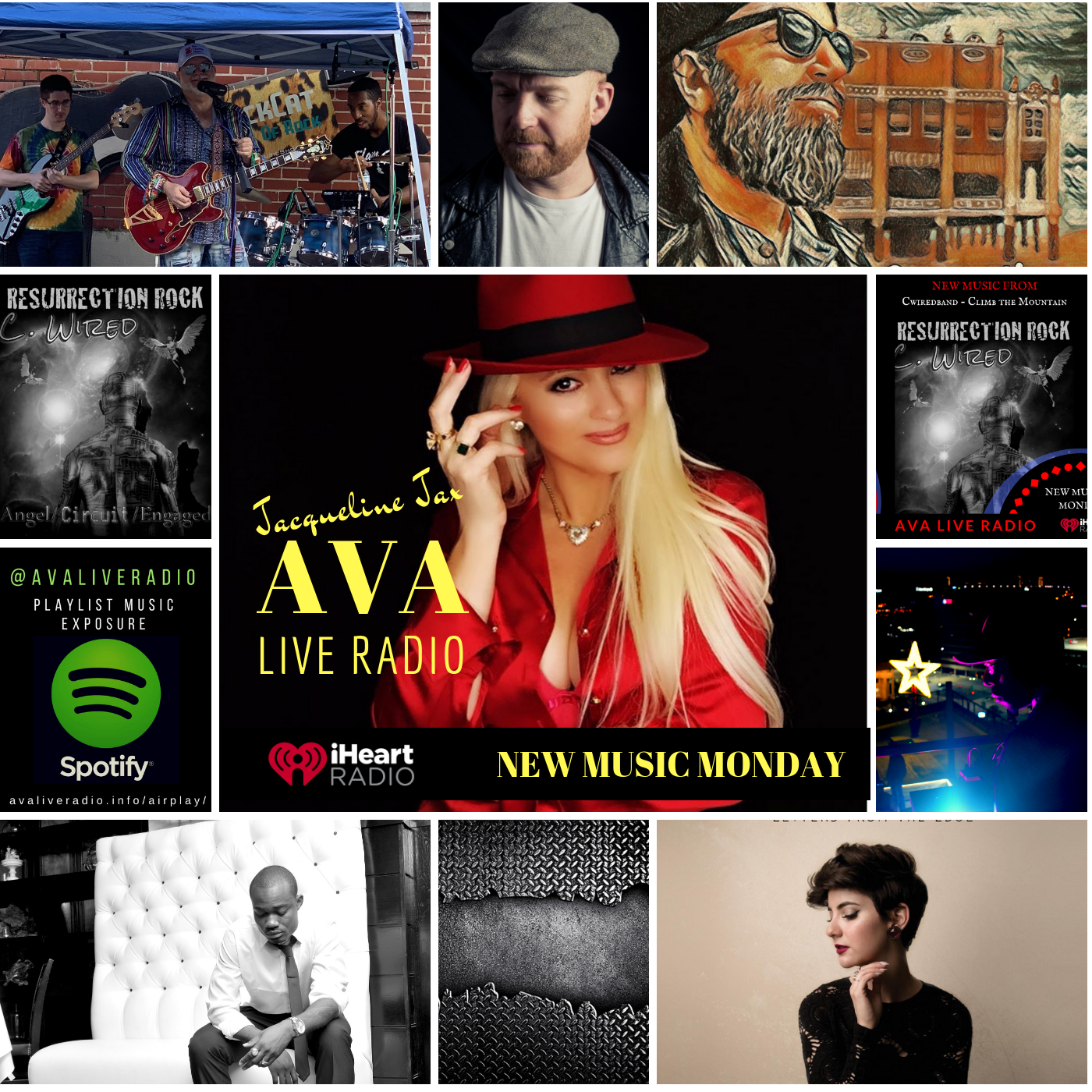 1 21 New Music Monday With Jacqueline Jax Today S List Of What S Fresh Coming Into A V A Live Radio This Is A Mix Of Indie Pop New Music Indie Pop Music